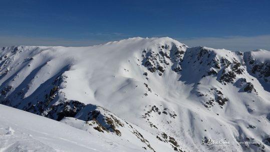 GR20 Sud en hiver - Monte Renosu