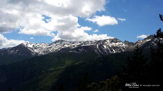Chaine du Monte Renosu