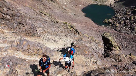 [GR20 Nord] Bocca Crucetta et lac du Cintu