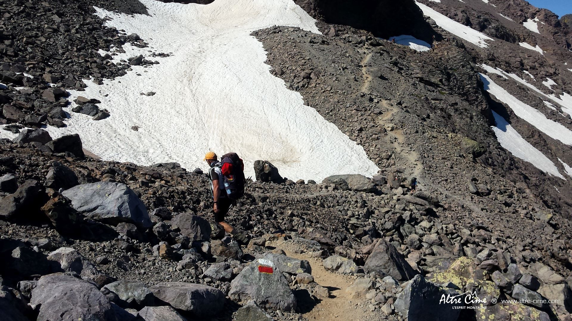 [GR20 Nord] Face Nord du Monte Cintu