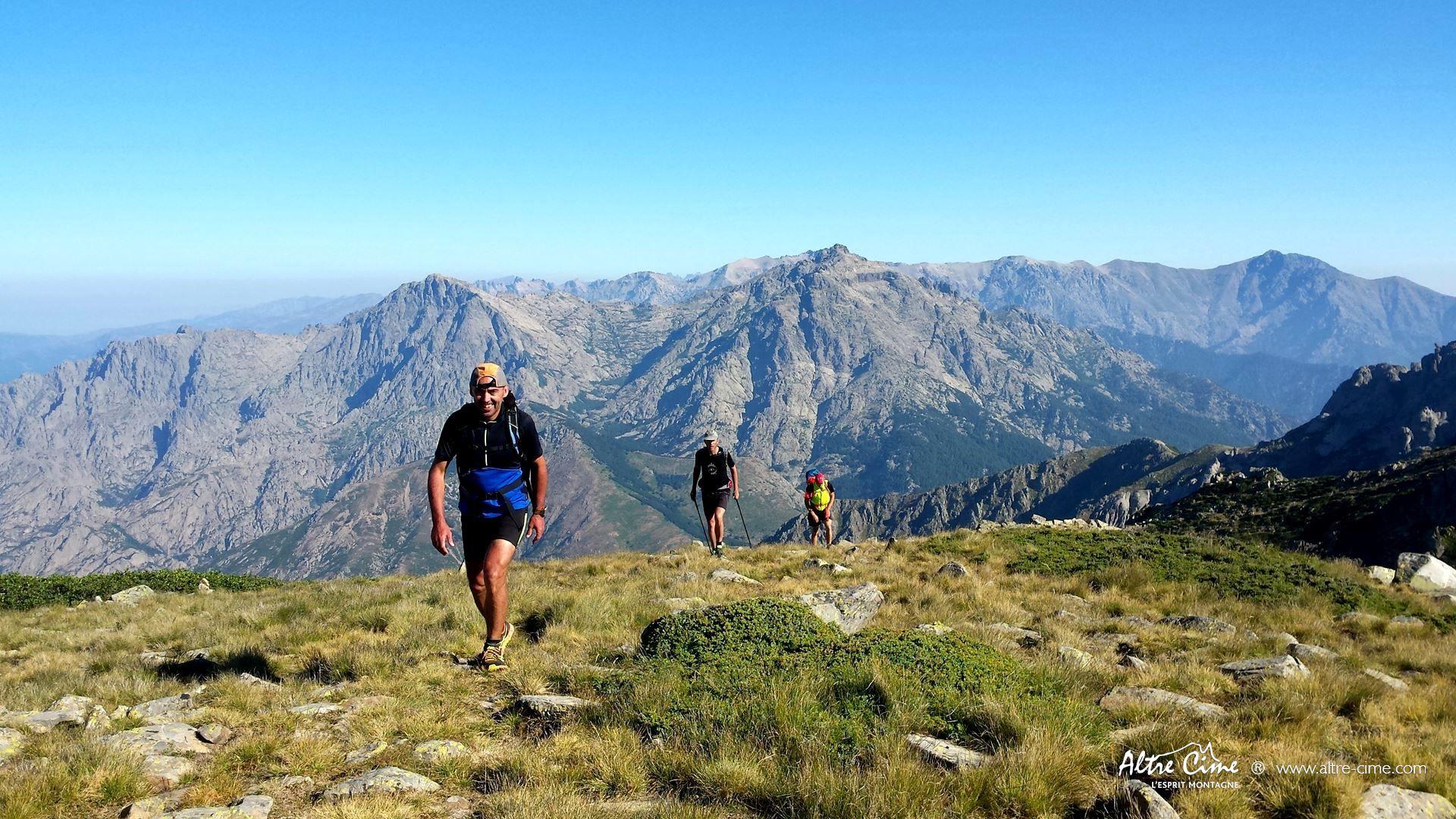[GR20 Trail] Variante du Renosu