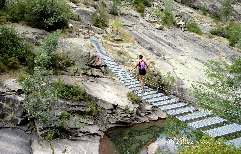 [GR20 Trail] Passerelle de Spasimata