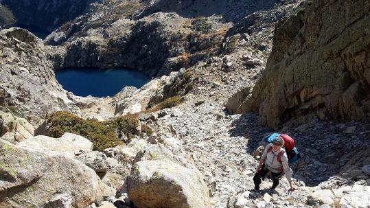 [Randonnée Corse] Montée à la Pointe des 7 lacs !