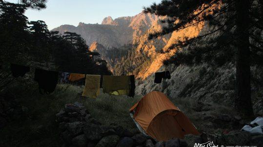 [Randonnée Corse Sauvage] Bivouac à Laoscella