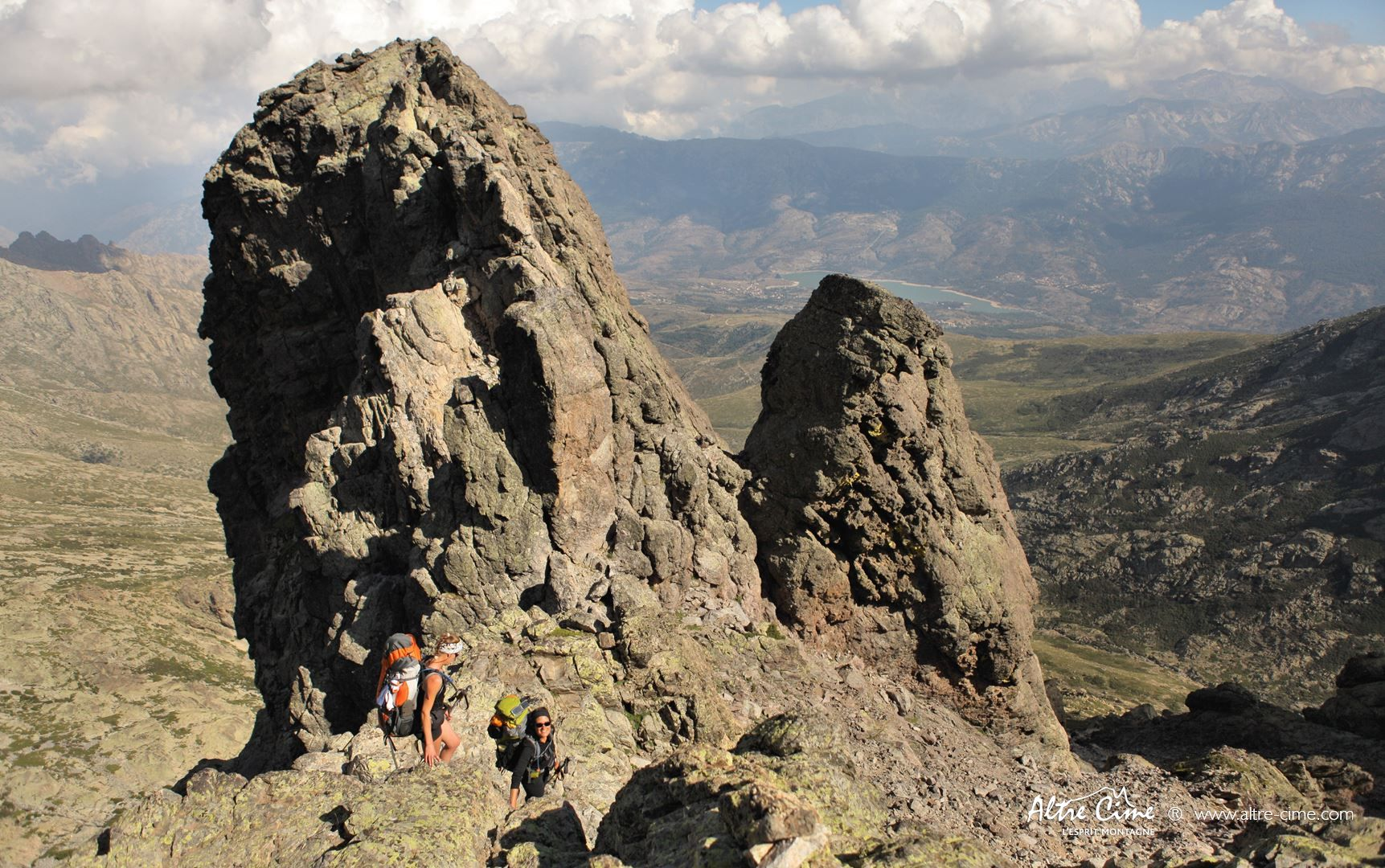 [Randonnée Corse Sauvage] Face Sud du Monte Cintu