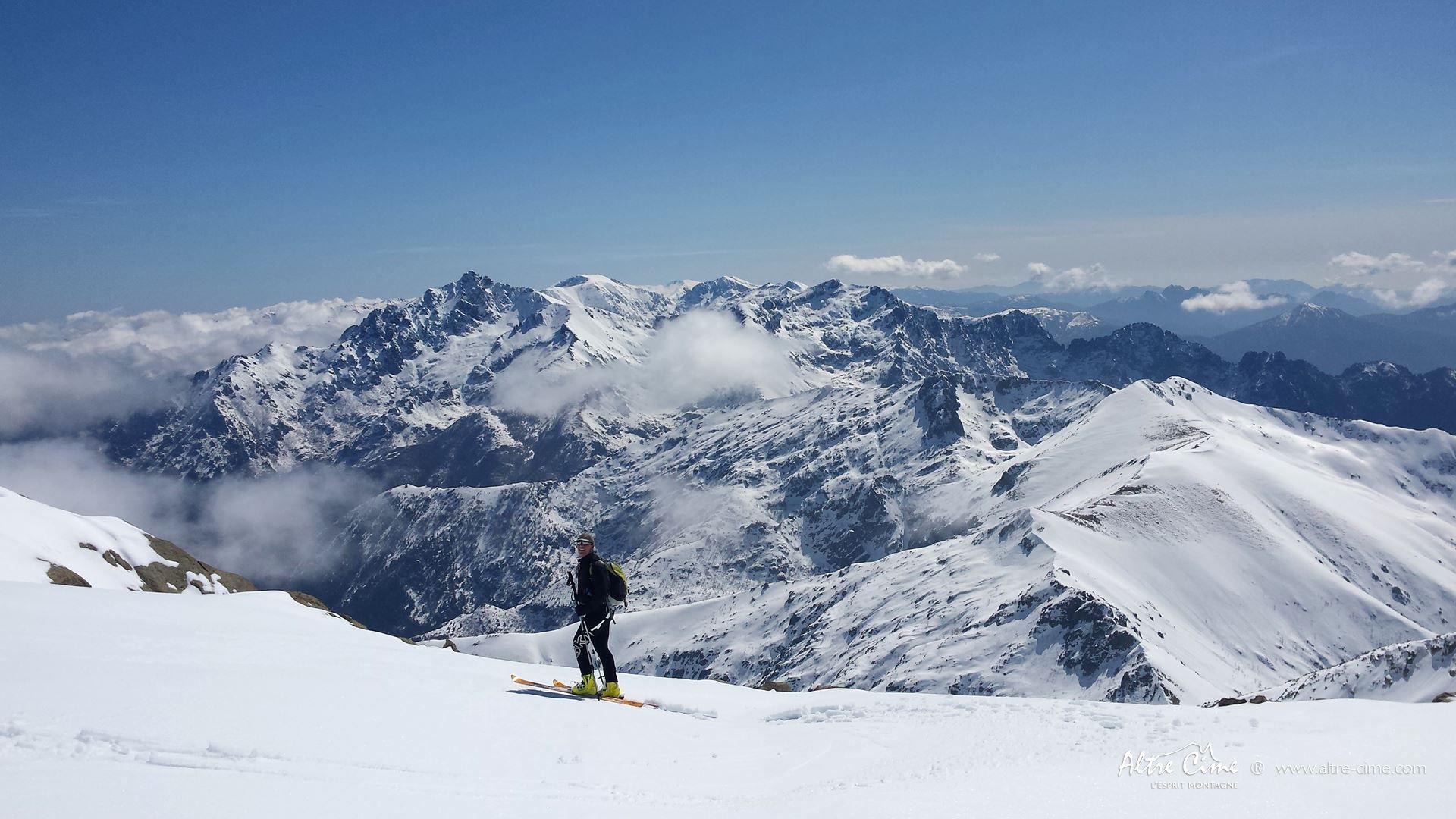 [Ski de randonnée Corse] Petra Piana