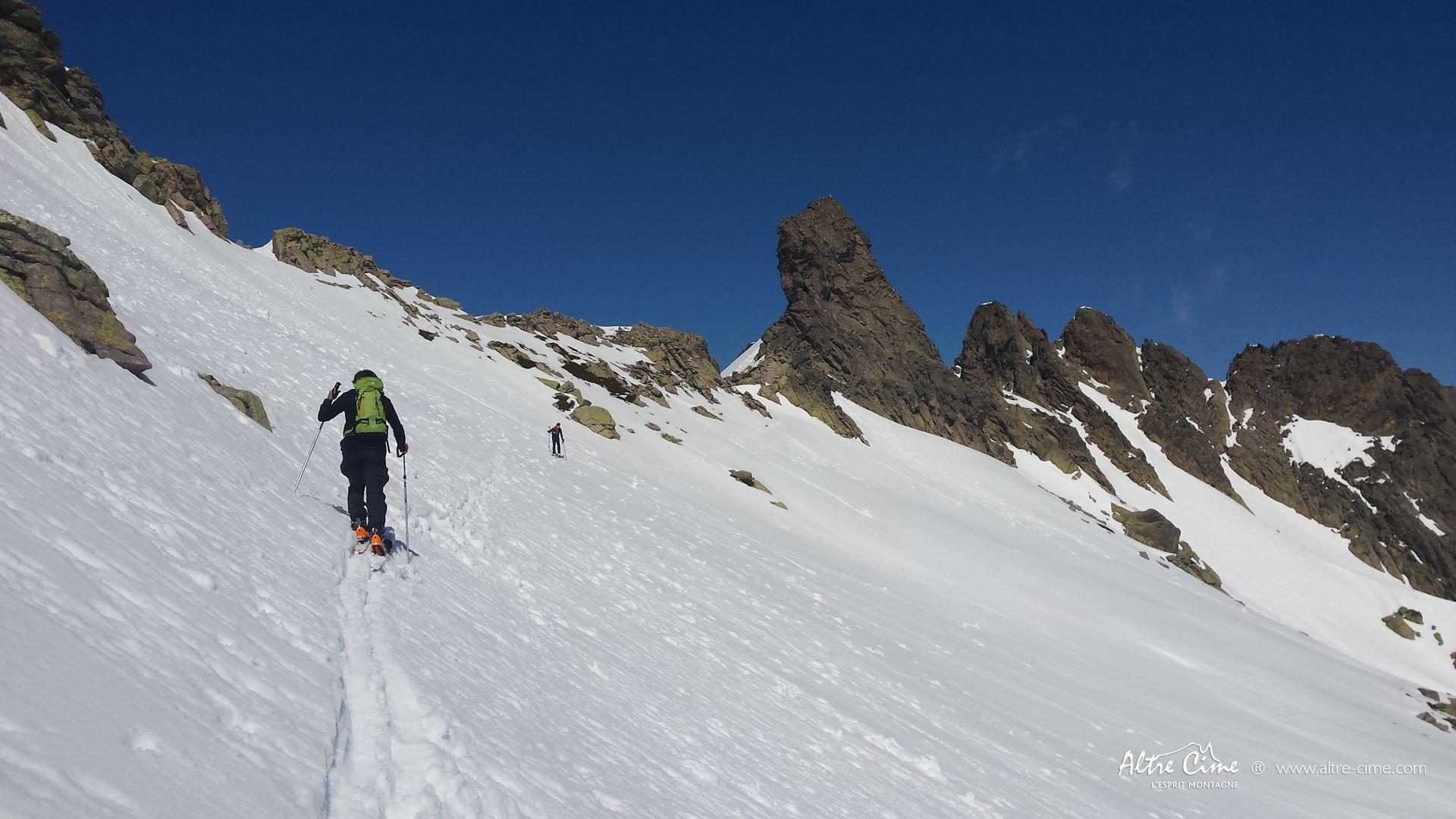 [Ski de randonnée Corse] Bocca a e Porte