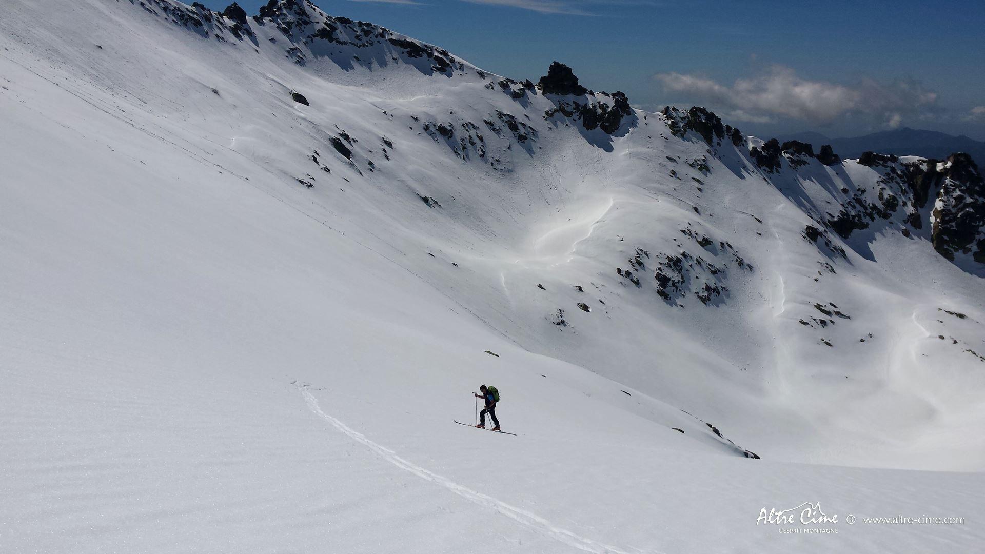 [Ski de randonnée Corse] Manganu GR20