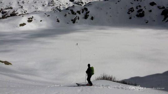 [Ski de randonnée Corse] Lac de Capitellu