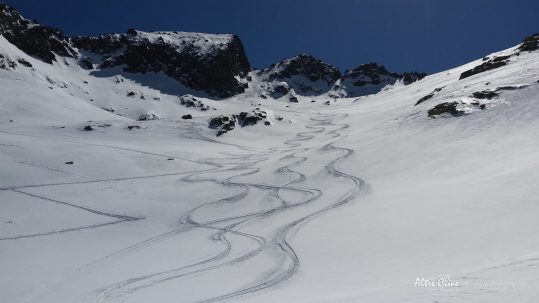 [Ski de randonnée Corse] Face Nord du Monte Ritondu