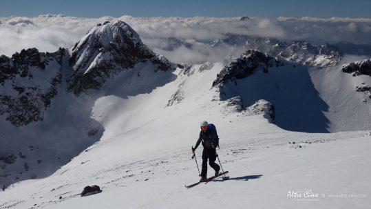 [Ski de randonnée Corse] Pointe des Eboulis