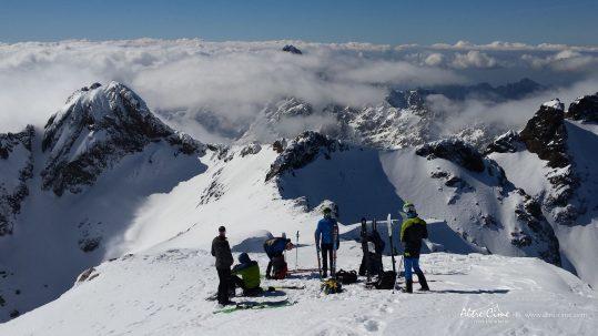 [Ski de randonnée Corse] Pointe des Eboulis GR20
