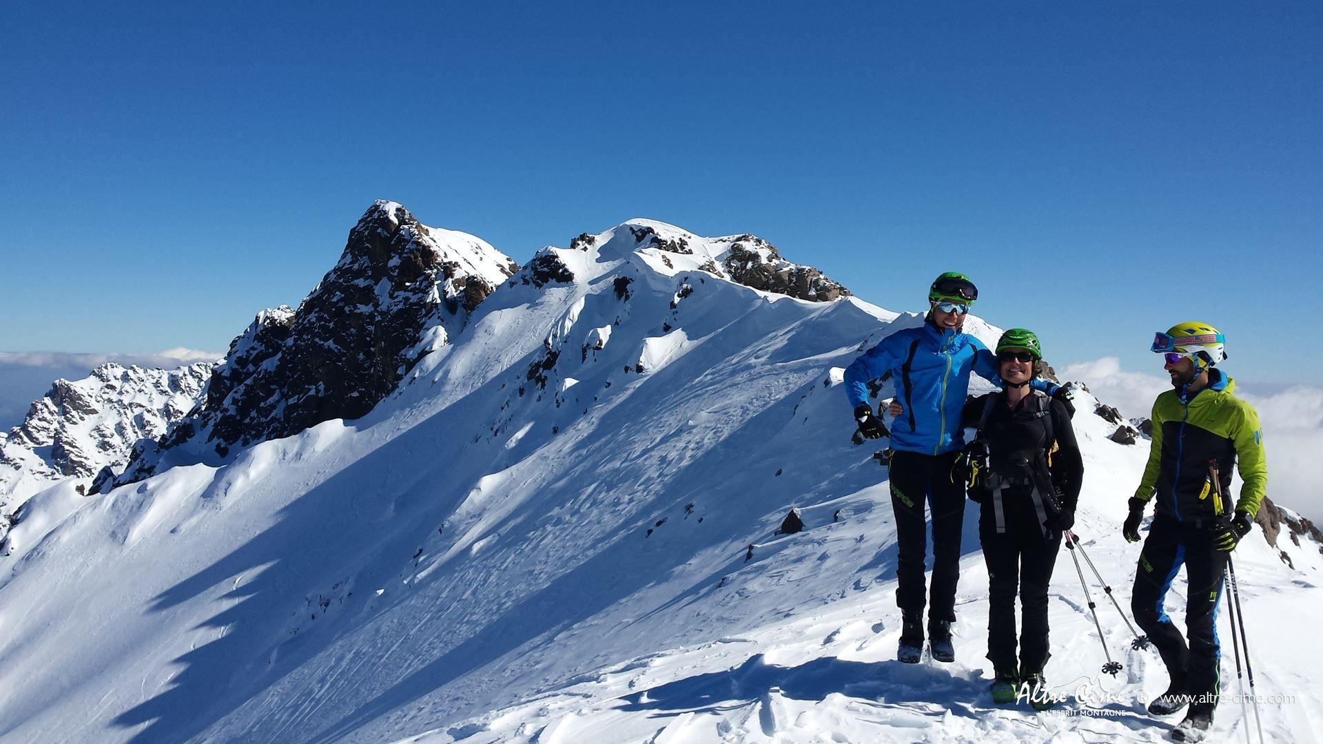[Ski de randonnée Corse] Sous le Monte Cintu
