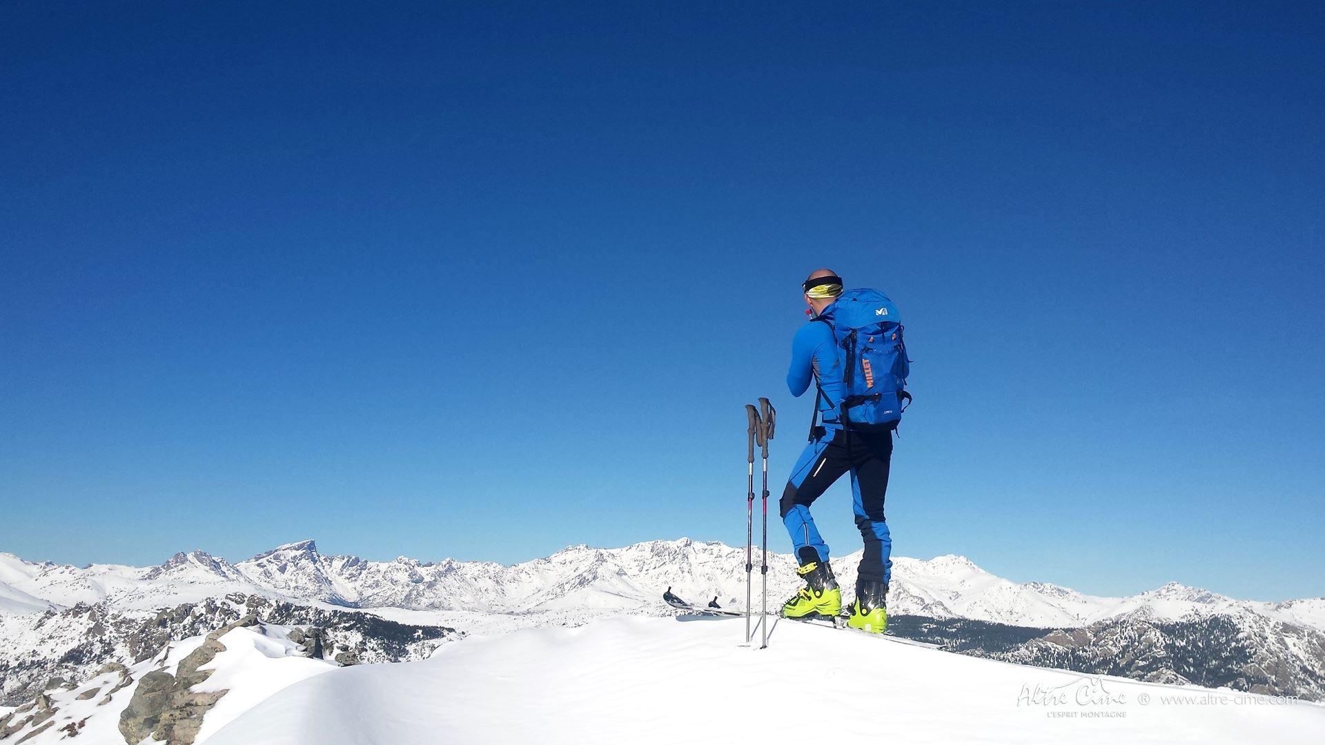 [Ski de randonnée Corse]