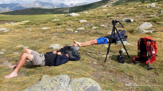 [GR20 Nord - Les Plus Beaux Treks] Repos bien mérité au lac de Ninu