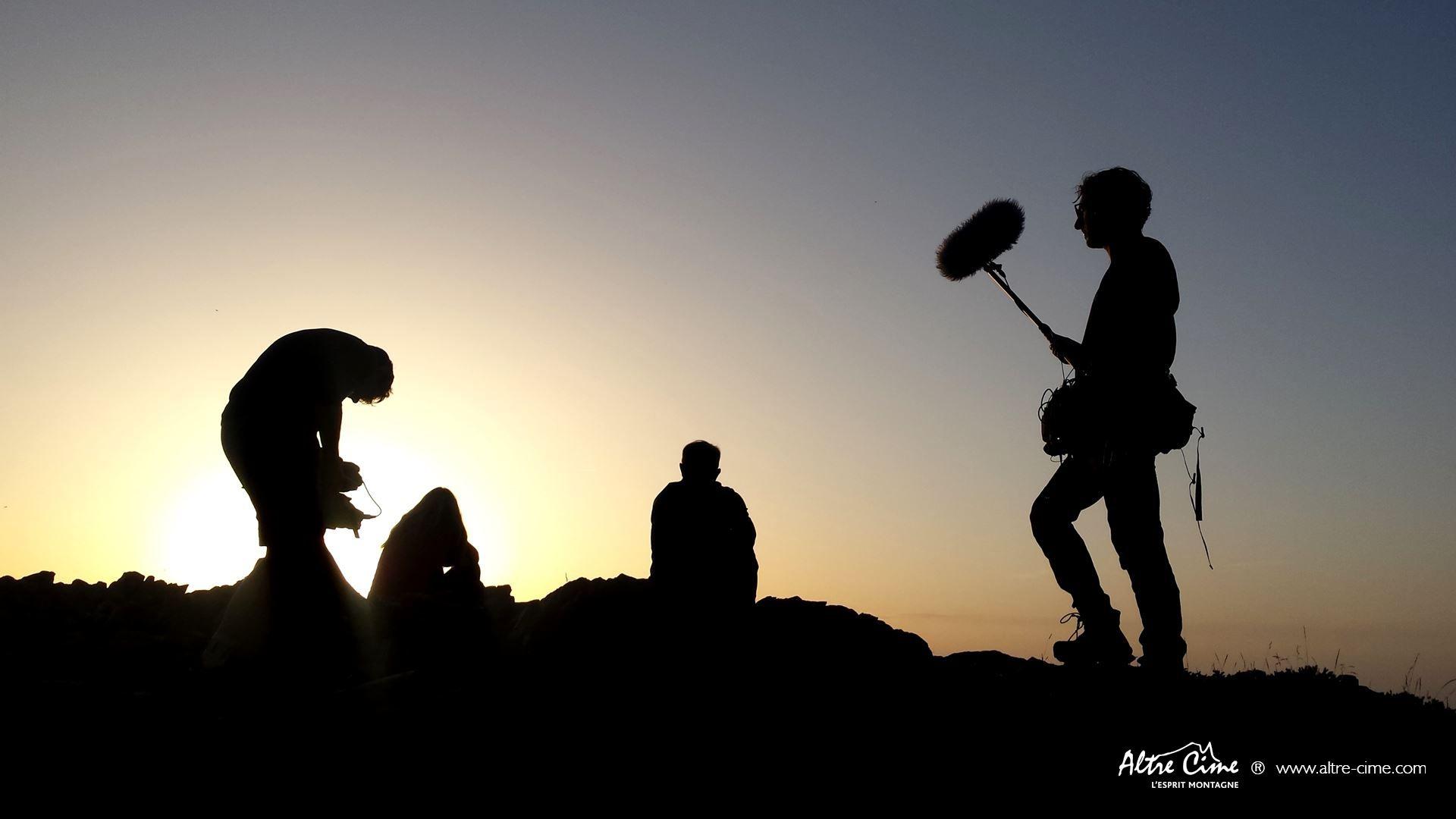[GR20 Nord - Les Plus Beaux Treks] Coucher de soleil sur les crêtes de Ciottulu