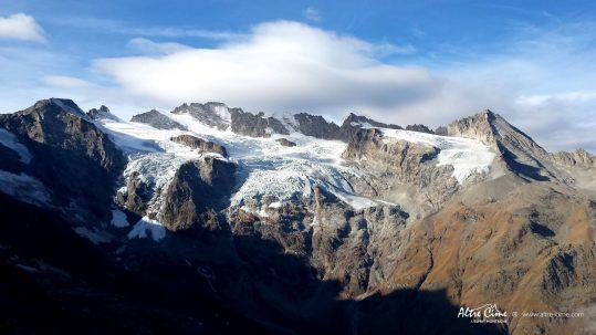 [Randonnée Grand Paradis] Vue sur le Grand Paradis et les glaciers de la Tribolazione et Tsasset