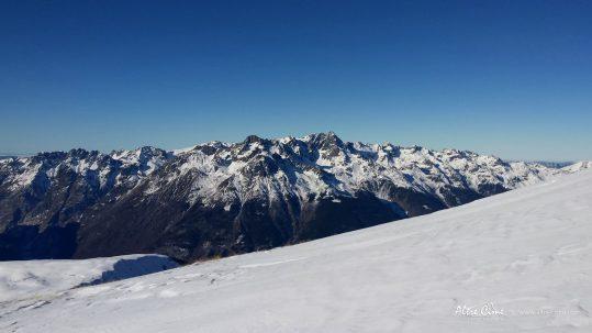 [Ski de randonnée] Vue sur le massif de Belledonne