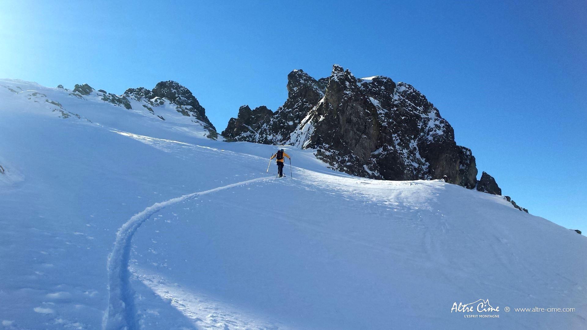 [Ski de randonnée - Belledonne] Météo parfaite dans Belledonne !