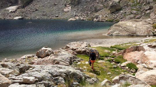 [GR20_Nord] Lac de Vettaniella, le plus grand lac de Corse