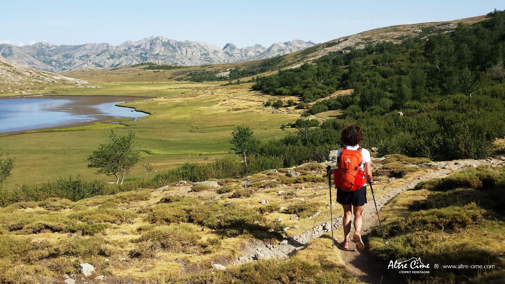 [GR20_Nord] Merveilleux lac de Ninu et ses Pozzine !