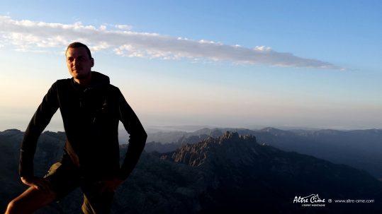 [GR20 Sud] Bavella depuis le sommet de l'Alcudina