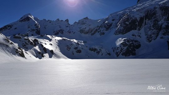 [GR20-hiver] Capitellu immaculé et la brèche de Capitellu