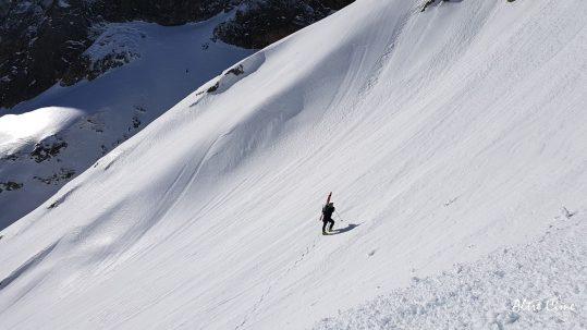 [GR20-hiver] Montée vers la brèche de Goria
