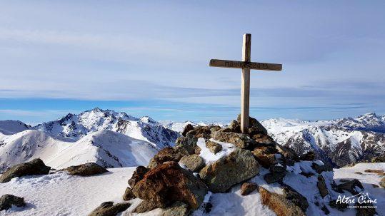 [GR20-hiver] Monte Cardu et vue sur le Ritondu