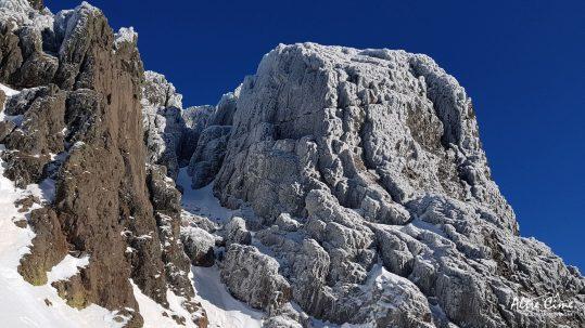 [GR20-hiver] Ascu, Punta Stranciancona
