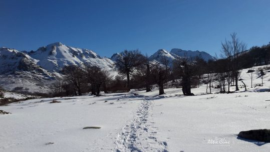 [GR20 Nord Hiver] le GR20 en raquettes à neige