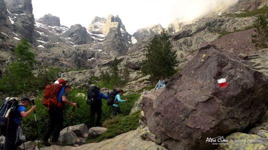 [GR20 Nord] Départ d'Ascu vers le Monte Cintu