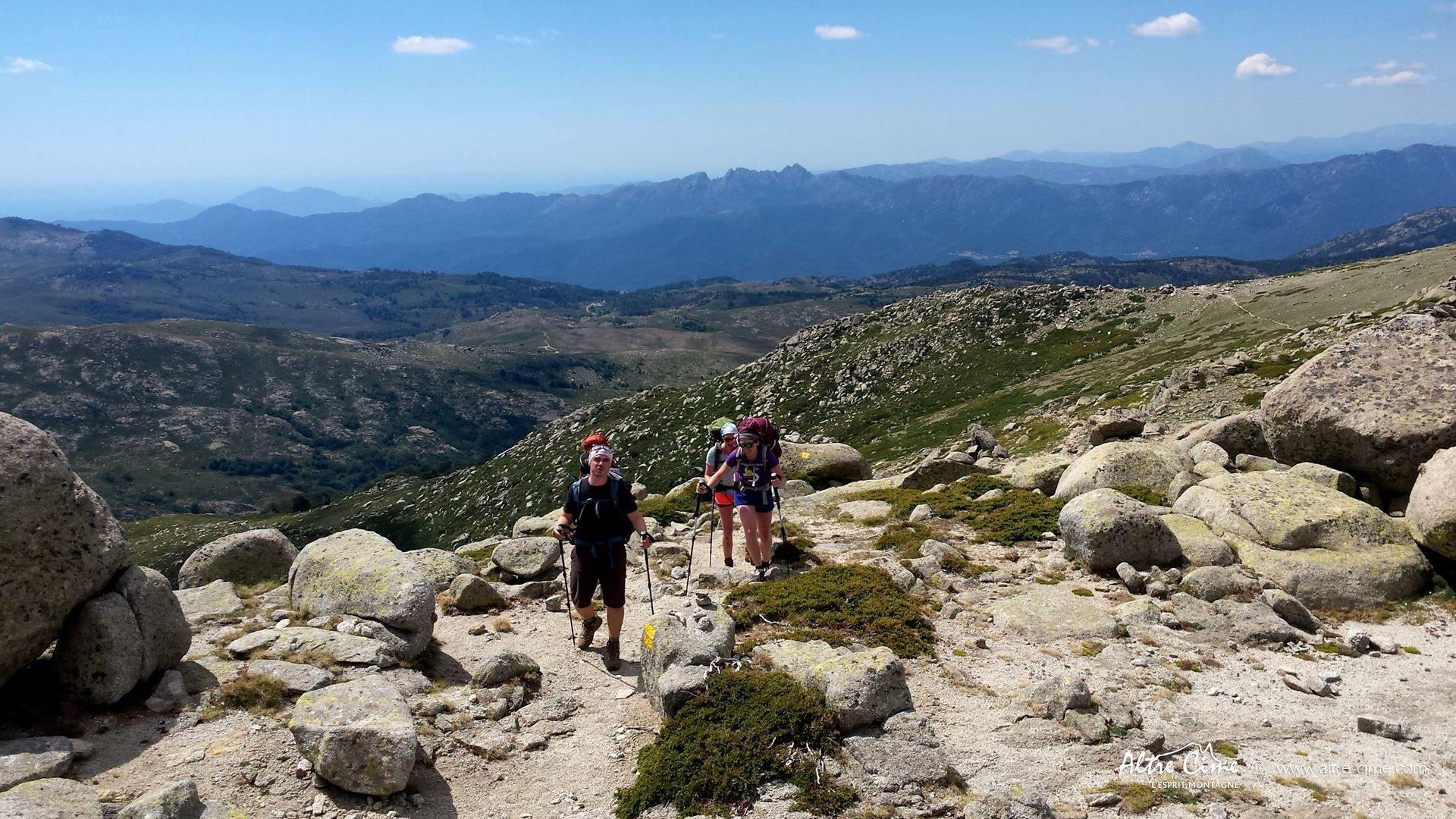 [GR20 Sud] Montée à l'Alcudina
