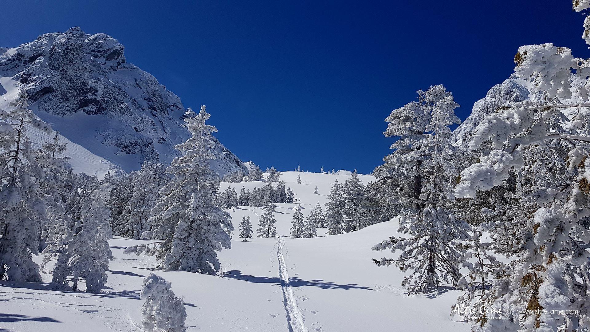 [GR20 Nord] Le GR20 sous la neige !