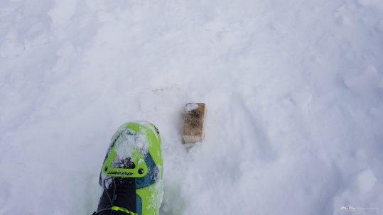 [GR20 Nord] Sommet du Paglia Orba sous la neige