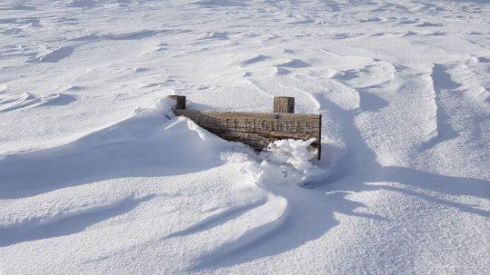 [GR20 Nord] Une bonne couche de neige sur le GR20