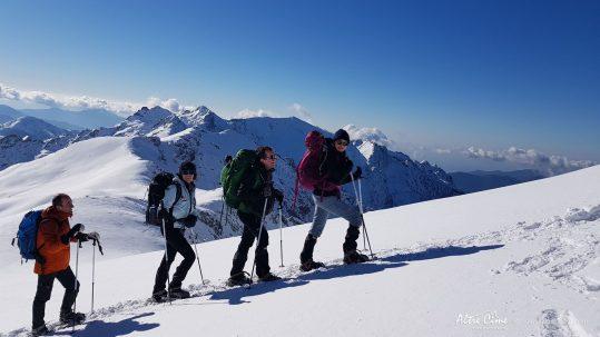 [GR20 Hiver] En route vers le sommet !