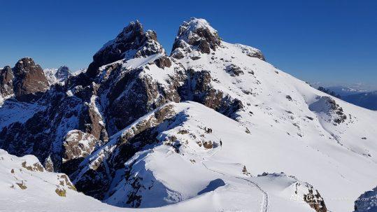 [GR20 Hiver] Paglia Orba et Capu Tafunatu en hiver