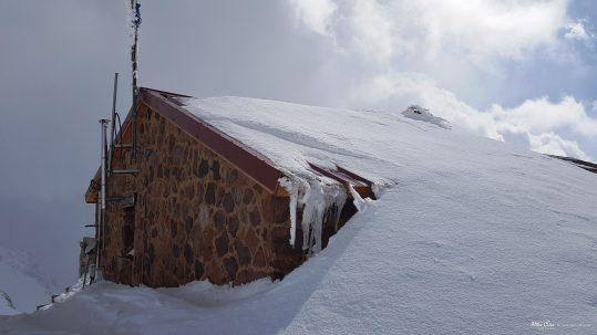 [GR20 Nord] Ciottulu sous la neige