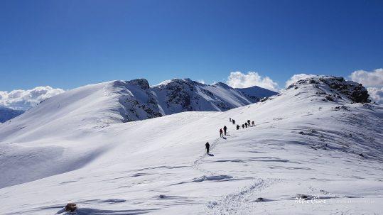 [GR20 Hiver] Raquettes à neige sur le GR20