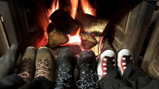 [GR20 Hiver] Un bon feu pour se réchauffer