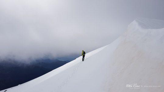[GR20 Nord] Au dessus du Col de Verghju