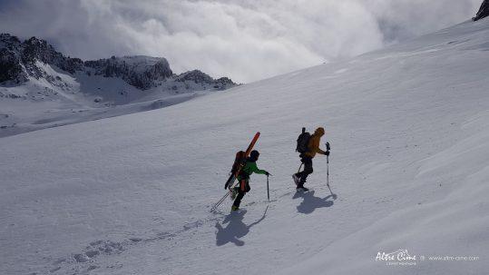 [GR20 Nord] Massif du Ritondu enneigé