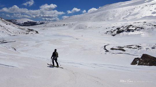 [GR20 Sud] Les Pozzi du Renosu sous la neige