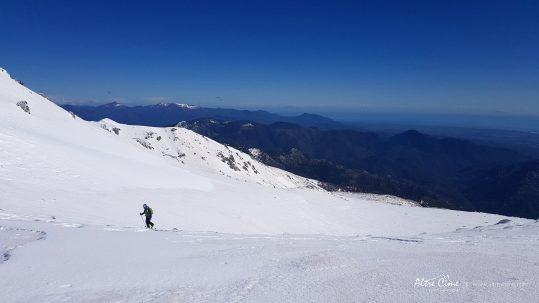 [GR20 Sud] Montée vers le Monte Renosu au dessus de Capanelle