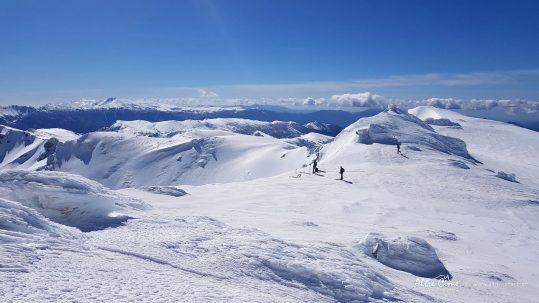 [GR20 Sud] Vue sur tout le massif Sud depuis le Renosu