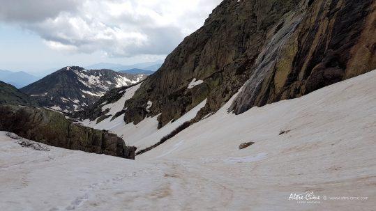 [GR20 Nord] Au niveau de la source au dessus du refuge de Manganu
