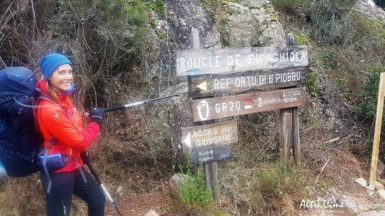 Départ sur le GR20 au refuge d'Ortu di u Piobbu
