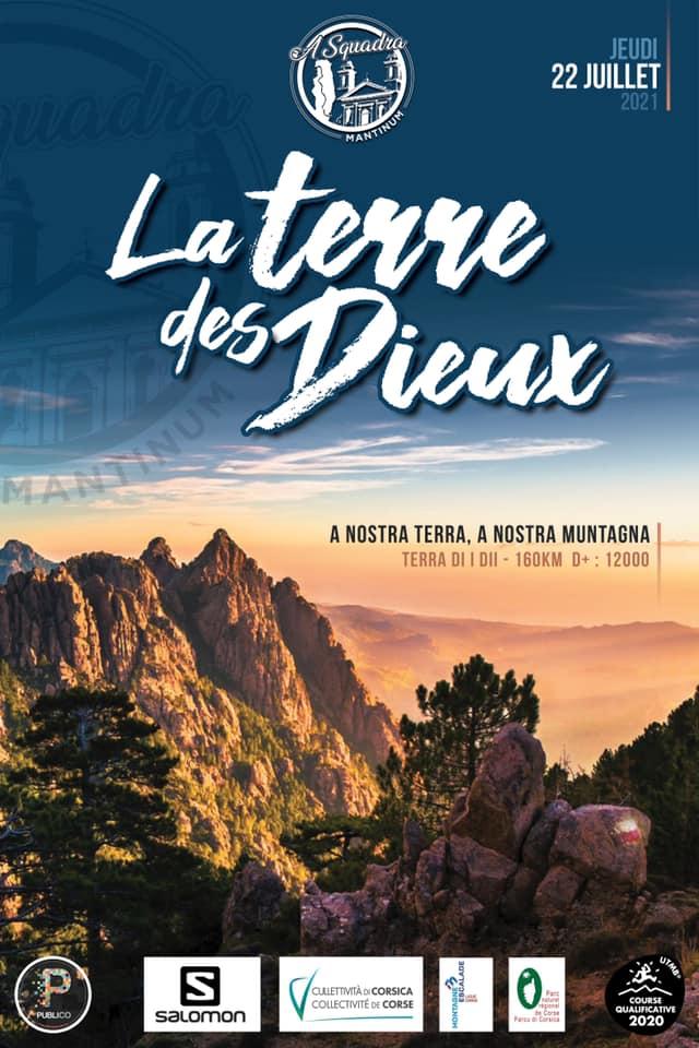 Ultra trail course Terre des Dieux 2021